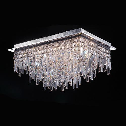 Lampă clasică de tavan cu 18 puncte Lavenda G4 Crystals