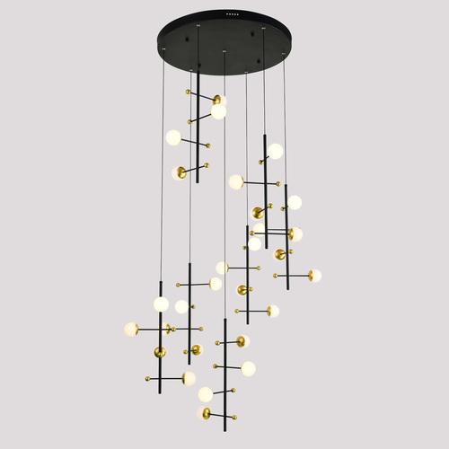 Lampă suspendată modernă Helmond LED