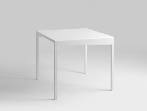 Masă de luat masa OBROOS METAL 80x80