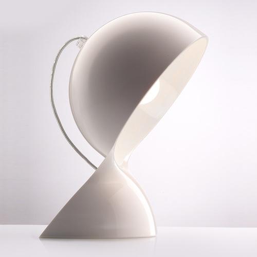Lampa de masă Artemide Dalu alb