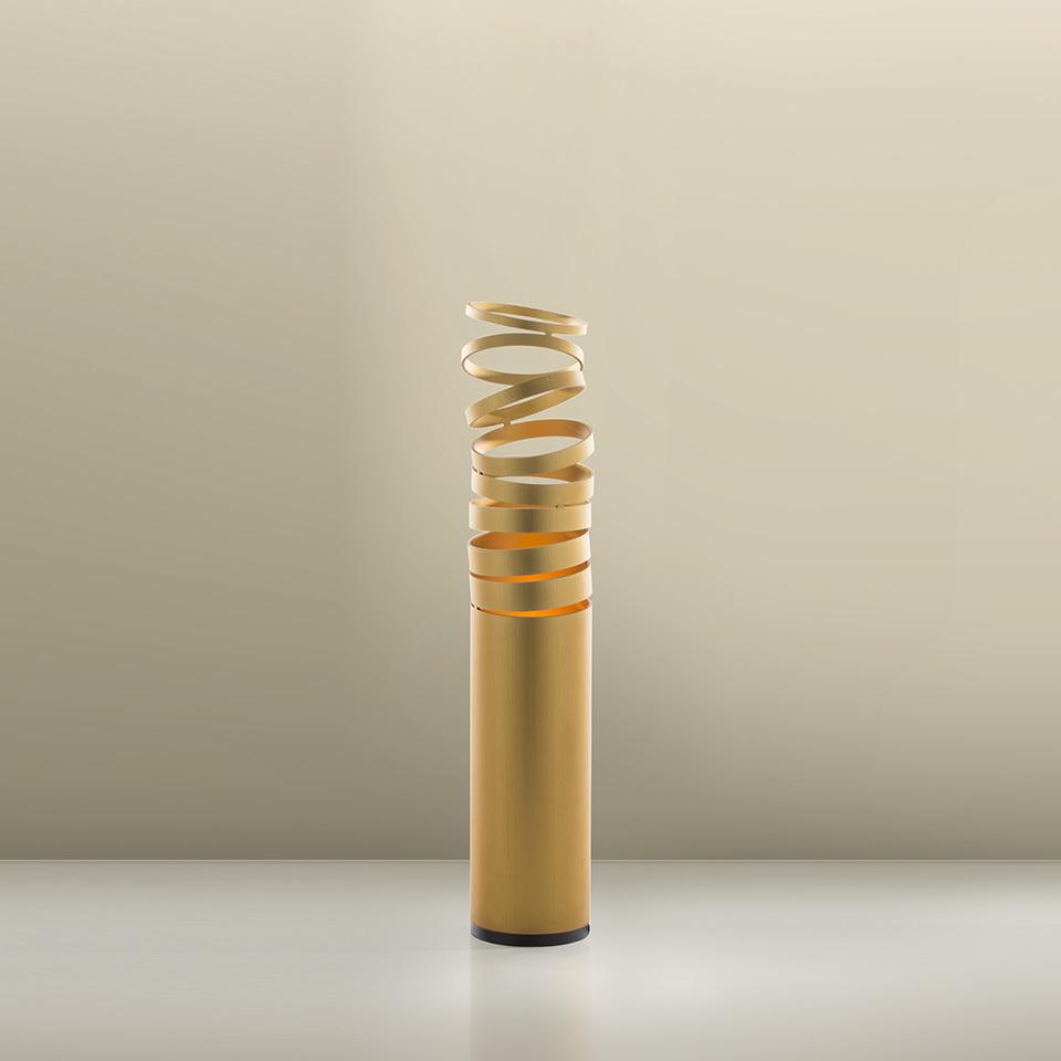 Lampa de masă Artemide DECOMPOSE 'LIGHT Gold