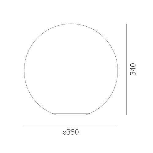 Lampă de masă Artemide Dioscuri 35 Masă 0147010A