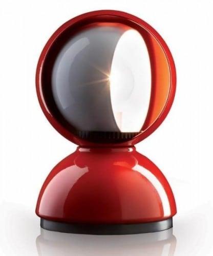 Lampa de masă Artemide ECLISSE roșu