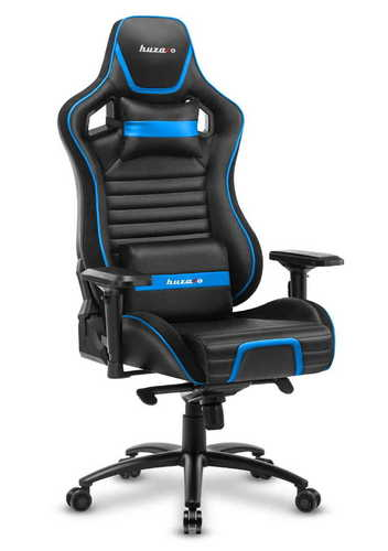Scaun de joc ultra confortabil HZ-Force 8.2 Blue