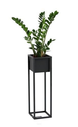 Suport pentru flori Loft Suport metalic pentru plante CUBO 70cm Loft negru