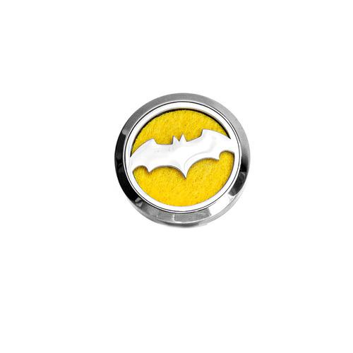 Odorizant decorativ auto, difuzor de uleiuri esențiale - Batman, oțel inoxidabil