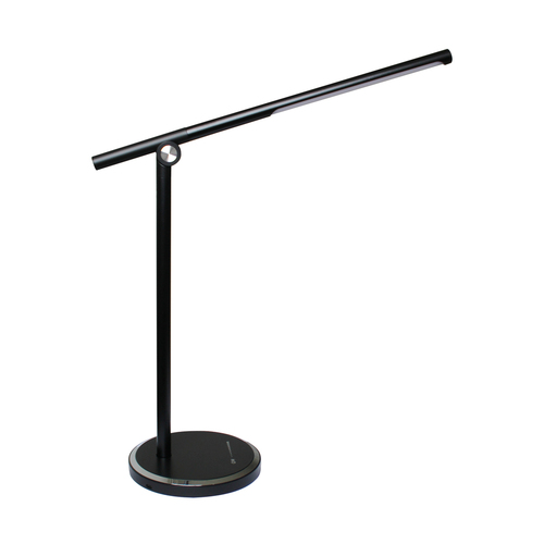 H1816 O lampă de birou negru / negru