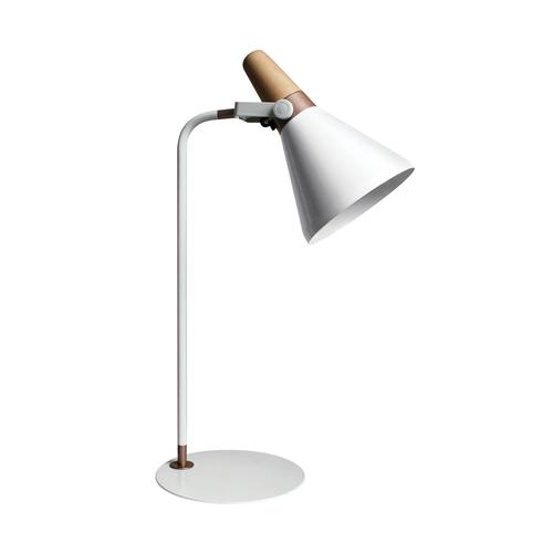H1833 Lampă de birou alb / alb
