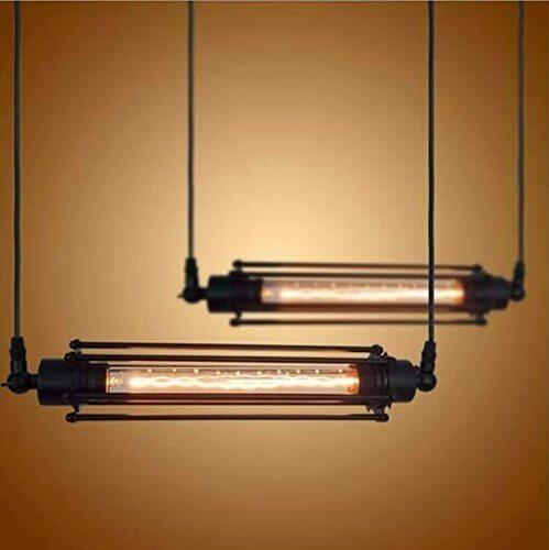 Lampă suspendată Abigali Retro Horizontal