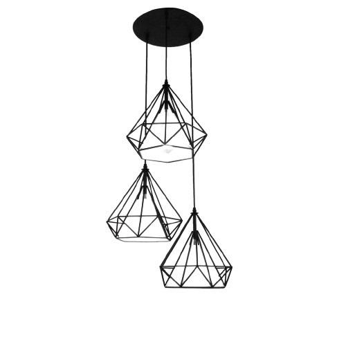 Lampă suspendată Diament Abigali Diamond III