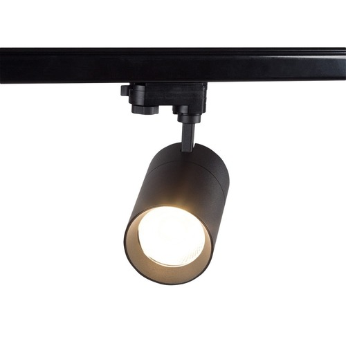 Spot cu LED monofazat Blaupunkt Vision 30W negru cu întrerupător de culoare deschisă