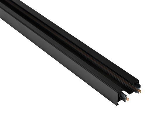 Șină STORM 1 fază Blaupunkt, lungă de 1 m, cu capace de capăt, de culoare neagră
