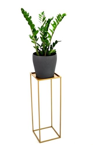 Pat de flori LOFT suport metalic pentru o oală de 70cm aur