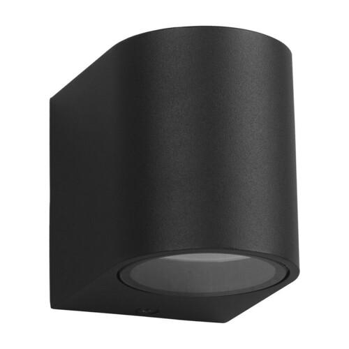 Lampă de perete Ovalis negru 1x Gu10 Ip44 IP44