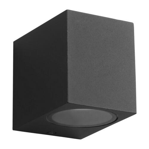 Aplica de perete de gradina neagra Boka 1x Gu10 Ip44 IP44