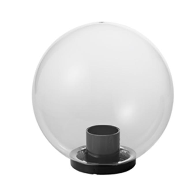 Lampă de grădină, minge de grădină, bilă Luna 40 cm, modernă, transparentă