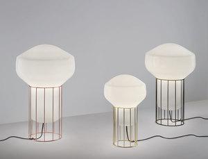 Lampă de masă Fabbian Aérostat 22,8 cm - crom negru - F27 B01 24 small 2