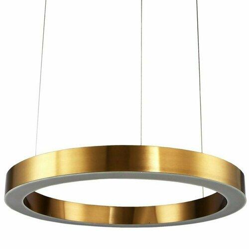 Lampă suspendată CIRCLE 120 LED alamă 120 cm
