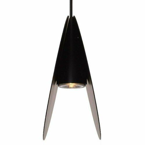 Lampă suspendată PILLS L, neagră, 33 cm
