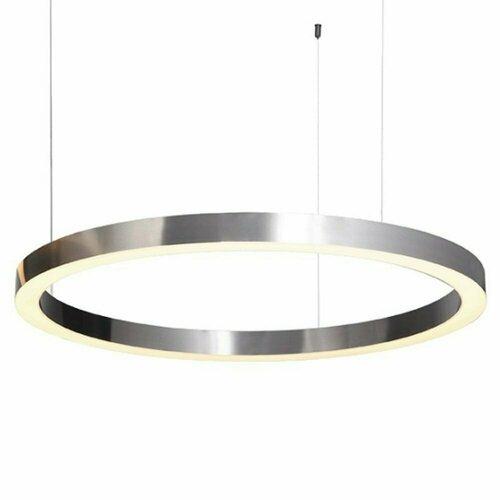 Lampă suspendată CIRCLE 80 LED nichel periat 80 cm