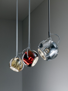 Lampa suspendată FABBIAN Beluga Transparent D57A1100 small 11