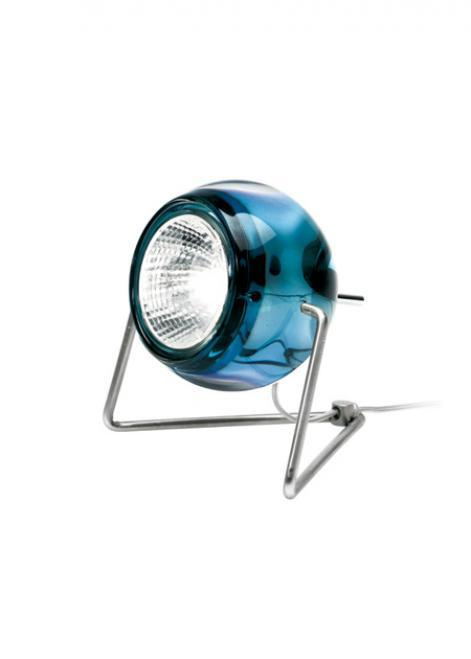 Lampă de masă Fabbian BELUGA D57B0331 Albastru
