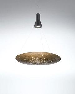 Lampa suspendată Fabbian LENS F46A0176 Bronz small 0