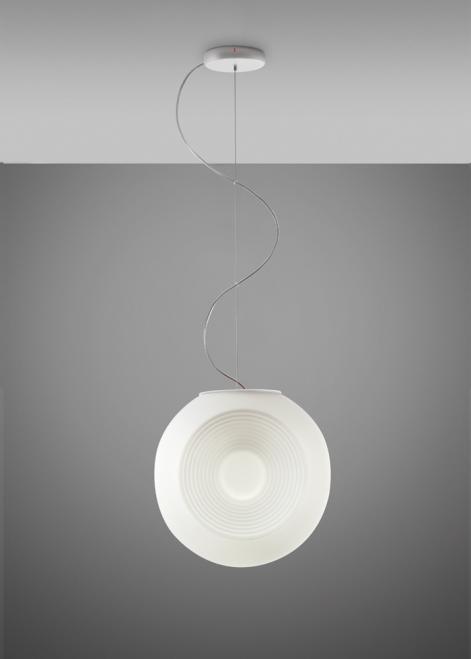 Lampa suspendată Fabbian EYES F34A0101 Alb