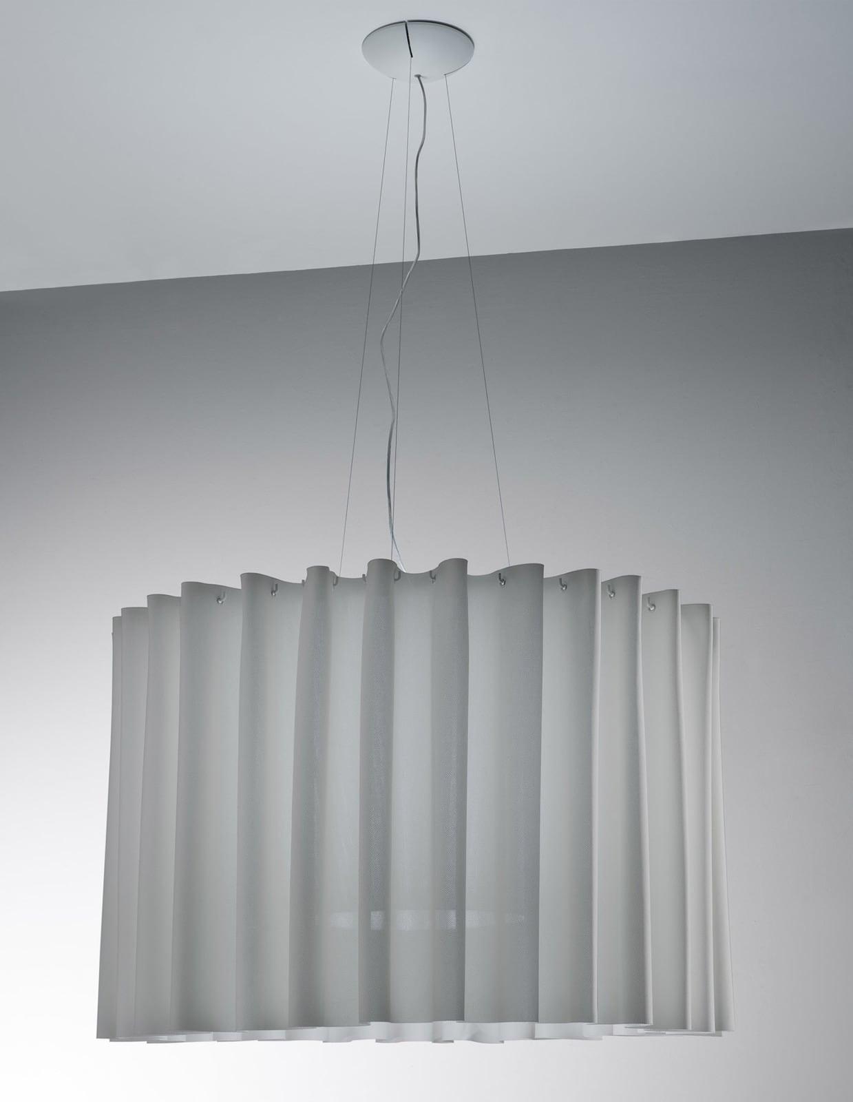 Lampa cu pandantiv AXO Light fusta 100 SK gri
