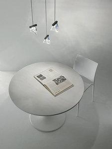 Lampa de masă Fabbian TRIPLA F41B0111 Aluminiu lustruit small 2