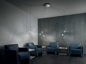 Lampa de masă Fabbian TRIPLA F41B0111 Aluminiu lustruit small 5
