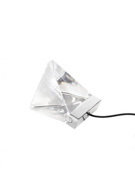 Lampa de masă Fabbian TRIPLA F41B0111 Aluminiu lustruit