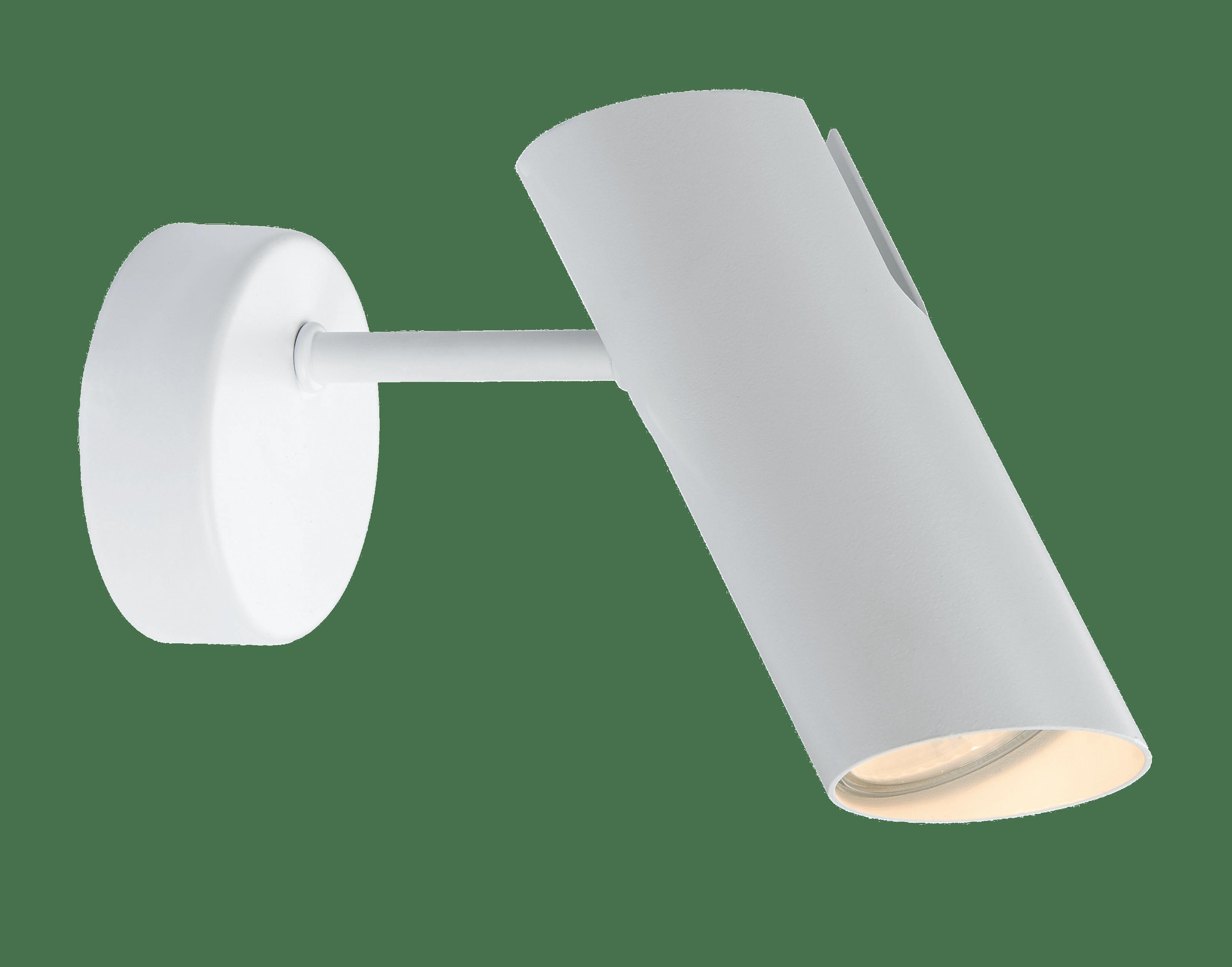 Lampă de perete albă minimalistă Futuro 1