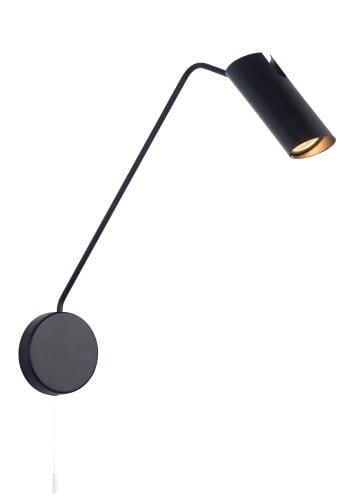 Perete mansardat negru Futuro 1 cu braț