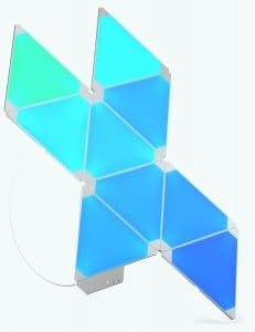 Kit Nanoleaf Aurora Light Panels Smarter Kit 9 panouri Smart home small 2