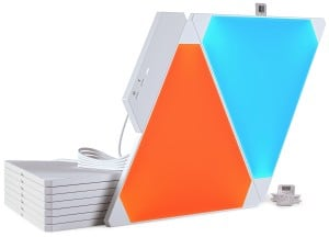 Kit Nanoleaf Aurora Light Panels Smarter Kit 9 panouri Smart home small 5