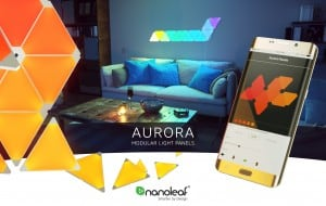 Kit Nanoleaf Aurora Light Panels Smarter Kit 9 panouri Smart home small 8