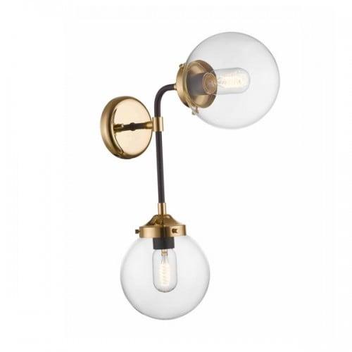 Lampa wewnetrzna kinkiet zuma line riano wall w0454 02d sdac l