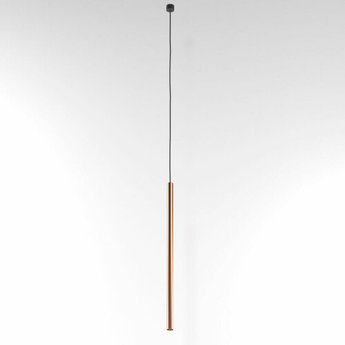NER 500 suspendat max. 1x2,5W, G9, 230V, sârmă neagră, culoare cupru (covor neted)