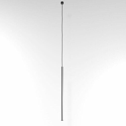 NER 500 suspendat max. 1x2,5W, G9, 230V, fir negru, culoare argintiu (mat)