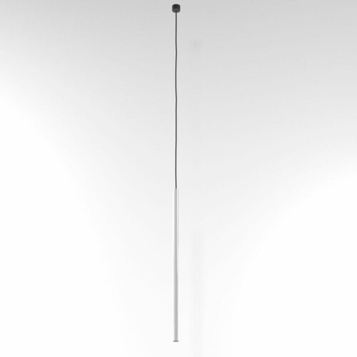 NER 550 suspendat max. 1x2,5W, G9, 230V, fir negru, alb (lucios) RAL 9003