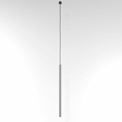 NER 550 suspendat max. 1x2,5W, G9, 230V, fir negru, aluminiu argintiu (structură mată) RAL 9006