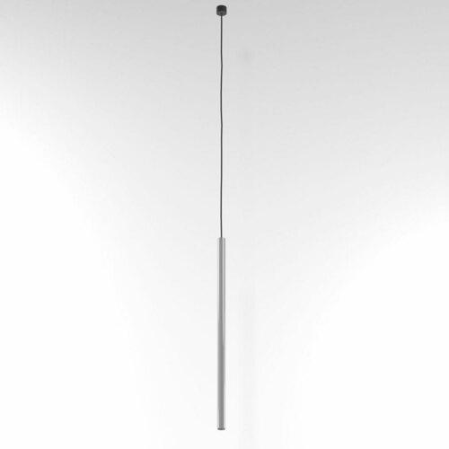 NER 550 suspendat max. 1x2,5W, G9, 230V, fir negru, aluminiu argintiu (lucios) RAL 9006