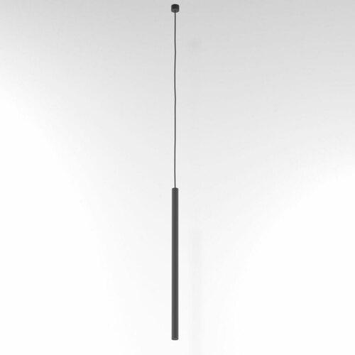 NER 550 suspendat max. 1x2,5W, G9, 230V, fir negru, gri grafit (structură mată) RAL 7024