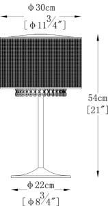LAMPĂ INTERIOR (TABEL) LUMINĂ DE ZUMĂ TABINĂ BLINK T0173-04W small 1