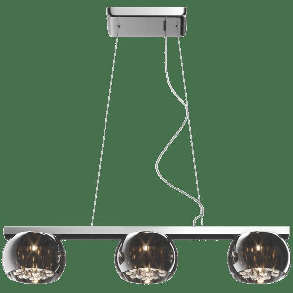 LAMPĂ INTERIOR (BANDĂ) LUMINĂ DE ZUMĂ PENDENT CRISTAL P0076-03S-F4FZ