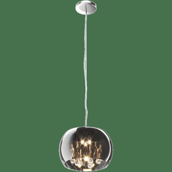 LAMPĂ INTERIOR (ÎNGRIJIRE) LUMINĂ DE ZUMĂ PENDENT CRISTAL P0076-03E-F4FZ