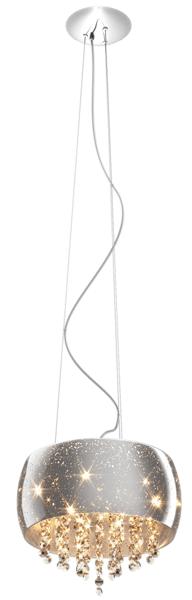 LAMPĂ INTERIOR (BANDĂ) ZUMA LINE VISTA PENDANT P0076-05K (argintiu)