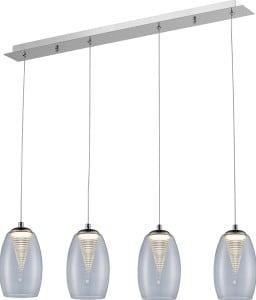 LAMPĂ INTERIOR (BANDĂ) LINIE DE ZUMĂ ENZO PENDANT MD1622-4A (CLEAR) small 0