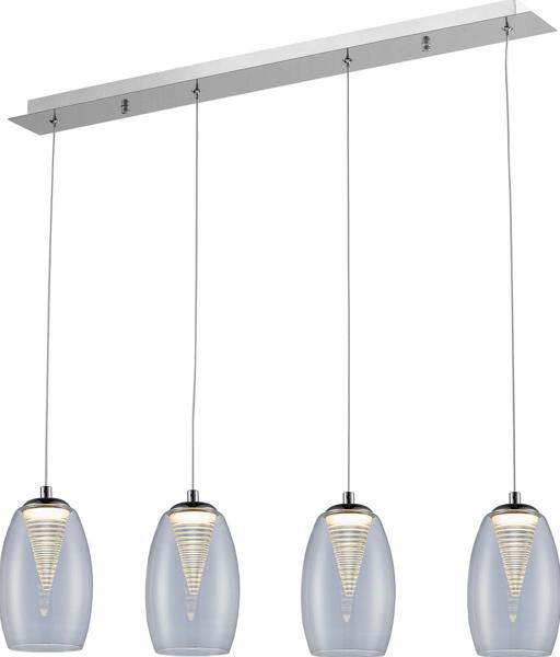 LAMPĂ INTERIOR (BANDĂ) LINIE DE ZUMĂ ENZO PENDANT MD1622-4A (CLEAR)
